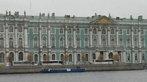 landscape building of The East and the West meet in St. Petersburg Event