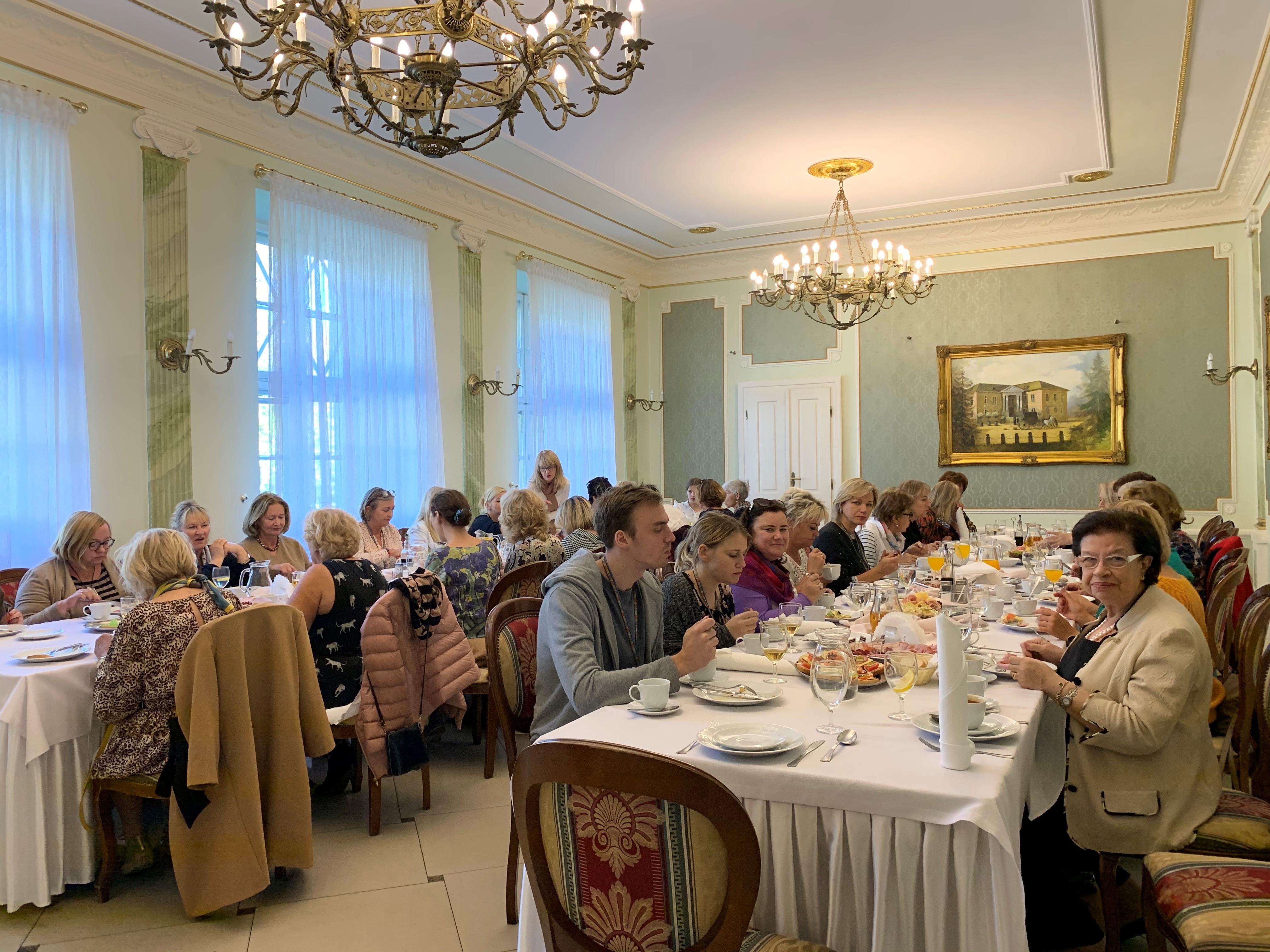 Picture of Dinner at Greater Pearls of Poland Event